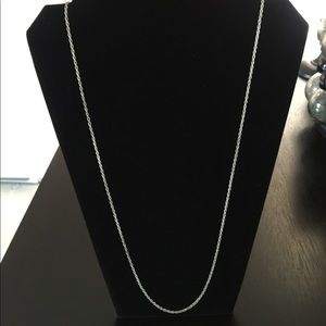 """❤️14"""" sterling silver rope chain❤️"""